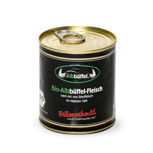 Bio-Albbüffel im eigenen Saft Dose 300g
