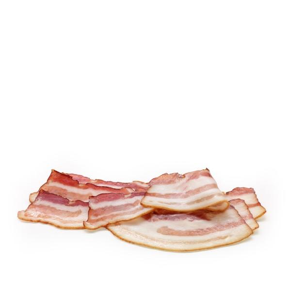 Schweinebauch, geraucht, geschnitten ca. 250g