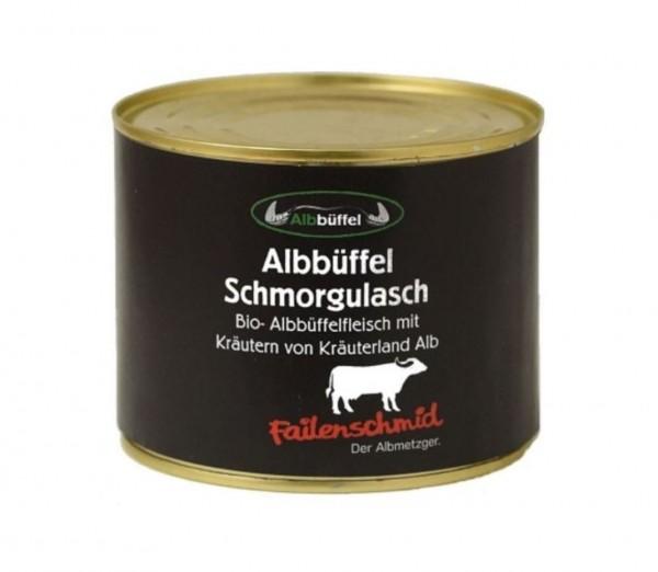 Bio-Albbüffel Schmorgulasch 600g