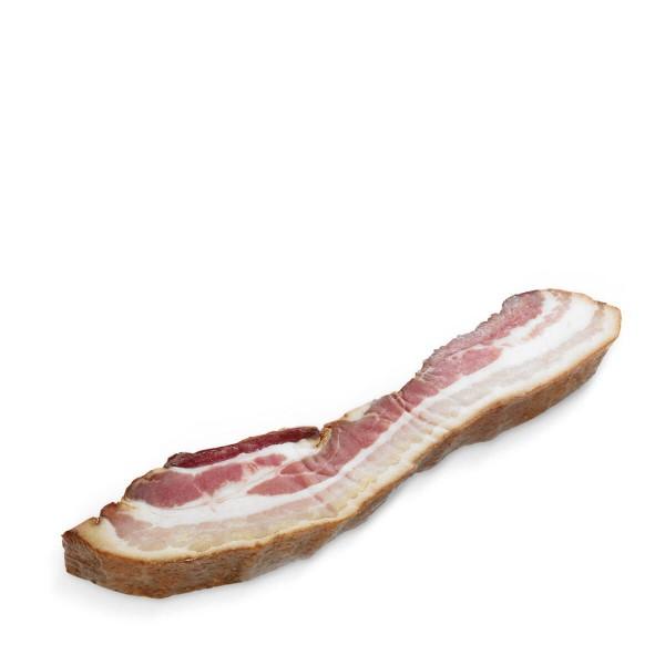 Schweinebauch, geraucht, am Stück ca. 300g