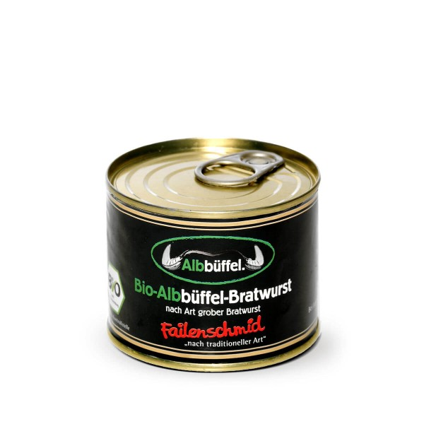Bio-Albbüffel Bratwurst Dose 200g